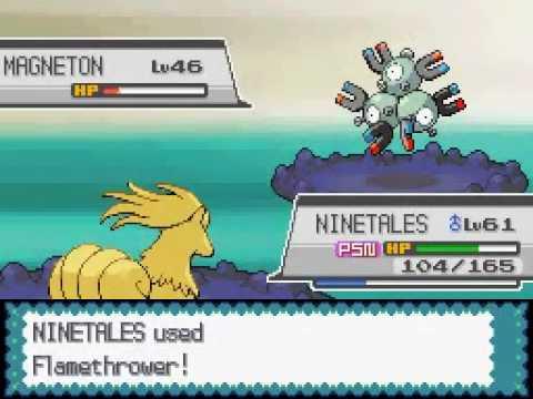 Play Pokemon Soul Silver 73 Mt Moon Rival Battle #6