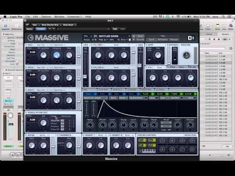 Dubstep Laser Bass Tutorial in NI Massive