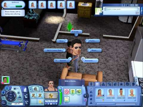 Sims 3: How to get married