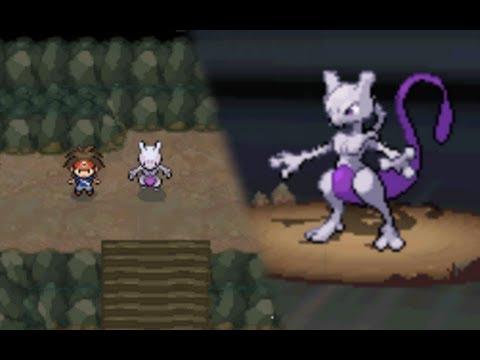 Pokémon Black 2 / White 2: Legendary Mewtwo Encounter (Hack)