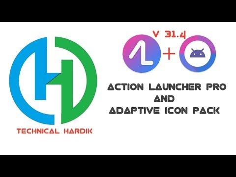 Action Launcher Pro v 31.4 & AdaptivePack - Pixel + Oreo Style For Free By Technical Hardik