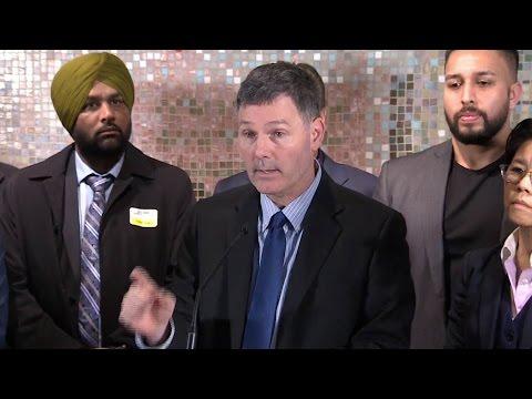 'UberX is illegal. UberX is unfair. UberX is unsafe.' Toronto councillor Glenn De Baeremaeker
