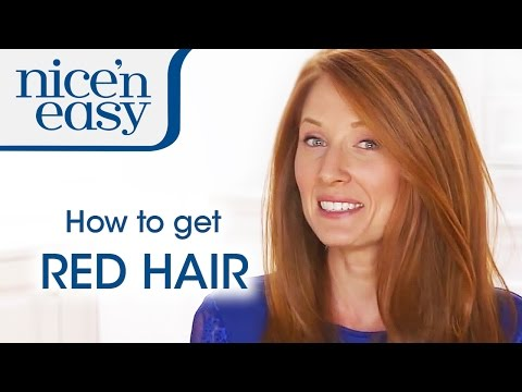 Home Hair Colour Tips: How to Dye Your Hair Red | Nice 'n Easy