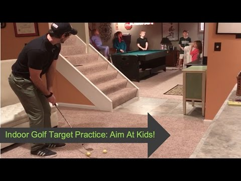 Golf   Best Way To Improve Golf At Home: Aim At Kids!