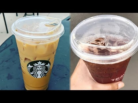 Starbucks Debuts STRAWLESS 'Sippy' Lids For Cold Drinks