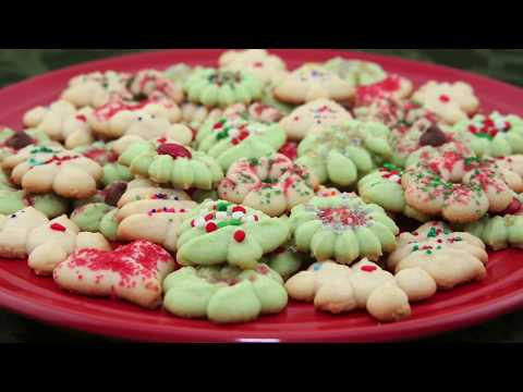 Butter Cookies / Holiday Butter Cookies (Banh Bo)
