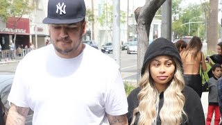 Blac Chyna PUNCHES Rob Kardashian During Dramatic Fight & Kardashian Sisters Have Had It