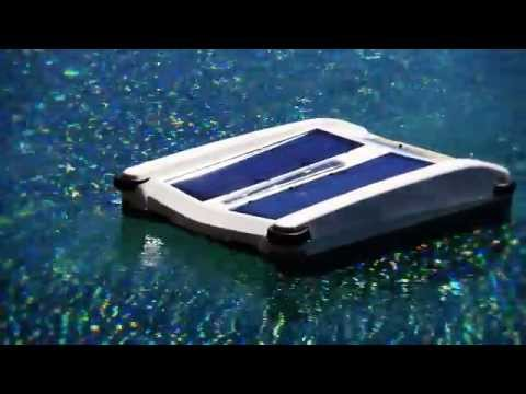 Solar Breeze Robotic Swimming Pool Surface Skimmer
