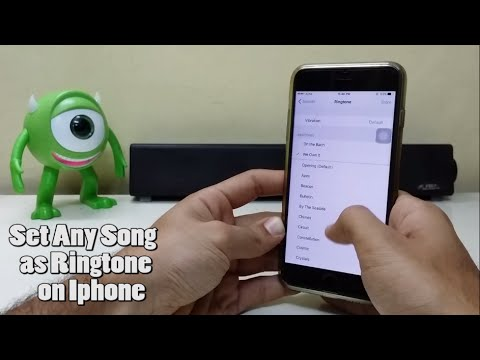 How to use any Song as Ringtone on Iphone for free!