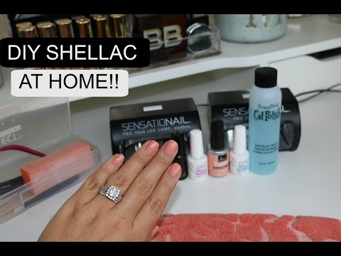 How to Do Your Own Shellac Gel Nails