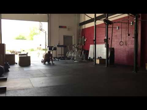 July 13 - 3 rounds- 400m run, 21 burpees