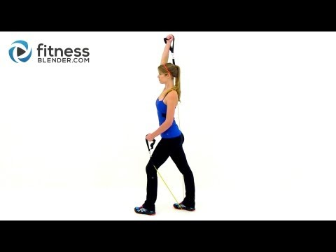 Sexy Arms Workout - At Home Resistance Band Workout for the Upper Body - Exercise Band Training