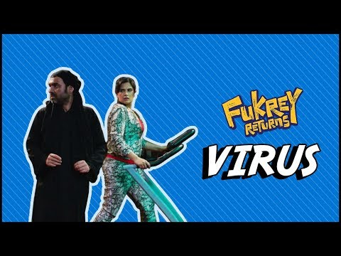 Virus | Dialogue Promo | Fukrey Returns | Varun Sharma | Richa Chadha | Pankaj Tripathi