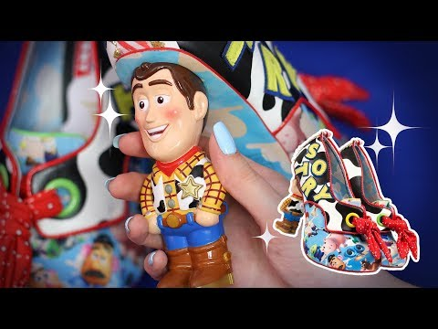 🚀 Toy Story Heels from Irregular Choice! 🚀(ASMR soft spoken, tapping)