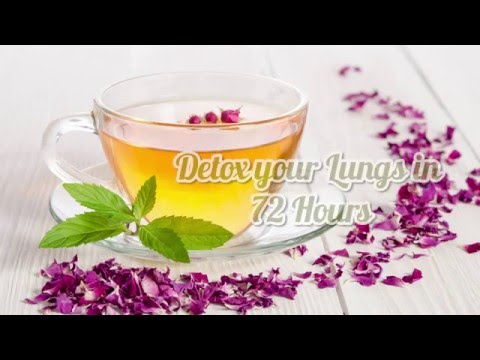 Detox your lungs in 72 hours