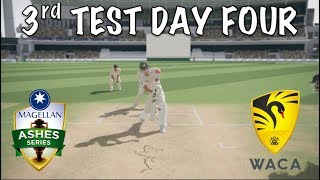 Australia vs England - 3rd Test Day 4 - The WACA - Ashes Cricket