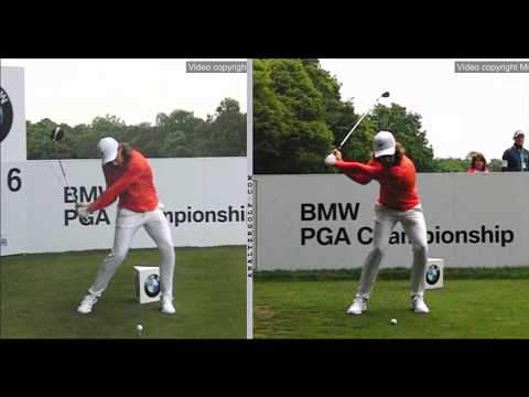 Tommy Fleetwood - Slow Motion Driver and Iron swing analysis