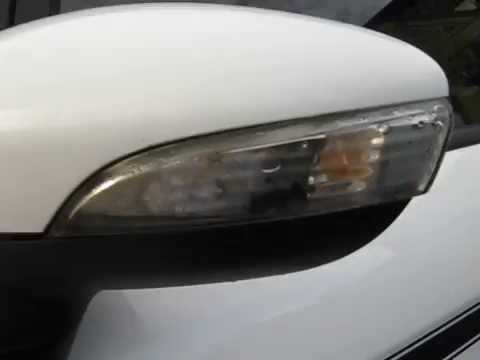 Fiesta Mk7 mirror cap removal