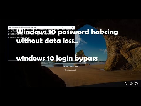 How to bypass windows password without any data loss |windows 10 and 8/8.1 |