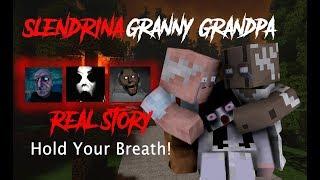 Monster School : Slendrina Granny & Grandpa Life ( True Story ) - Minecraft Animation