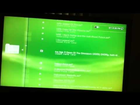 Stream Music Videos Pictures from your computer to your PS3