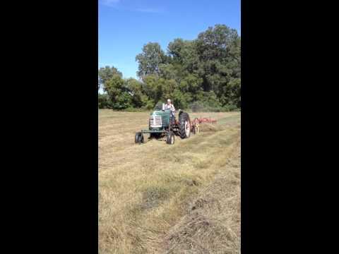 Hay raking