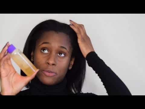 Natural remedy for eczema and psoriasis in scalp