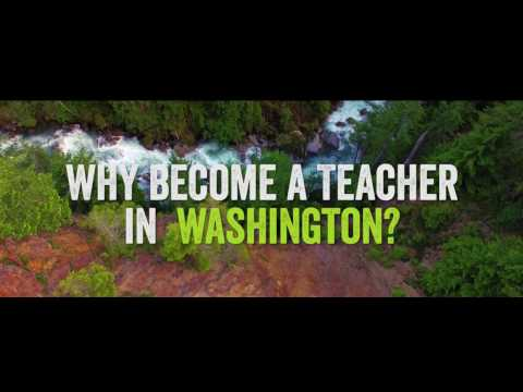 Why become a teacher in Washington?