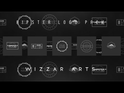 Free HIPSTER LOGO PACK (PSD)
