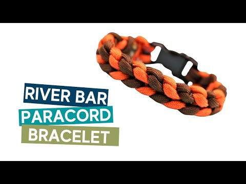 RIVER BAR BRACELET WITH BUCKLES PARACORD TUTORIAL