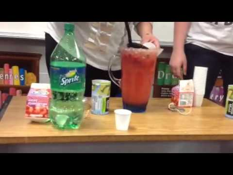 School Strawberry Lemonade Sprite Combo!