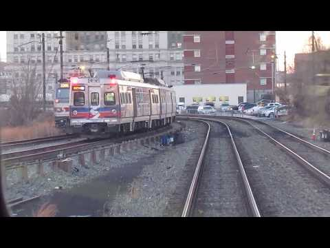 SEPTA R7 Trenton - ZOO Interlocking Inbound (Mantua to 30th St Station)