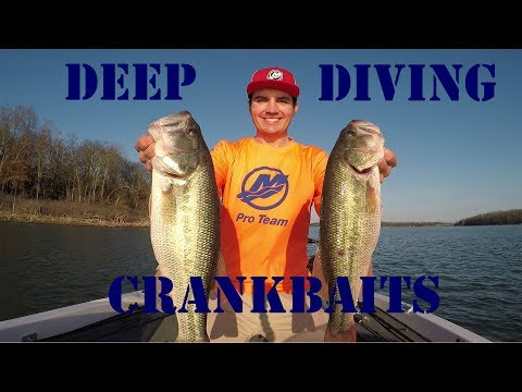 How to Fish Deep Diving Crankbaits for Pre-spawn Bass