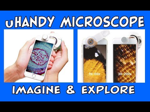 uHandy Mobilephone Microscope Unboxing & Review | STEM