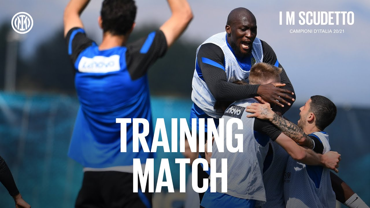INTER vs... INTER   TRAINING MATCH   A match between the Serie A Champions ⚫🔵🇮🇹 #IMScudetto #IMInter