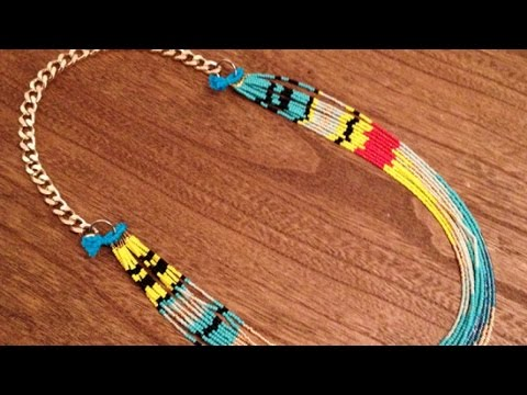 How To Make a Native American Necklace - DIY Style Tutorial - Guidecentral