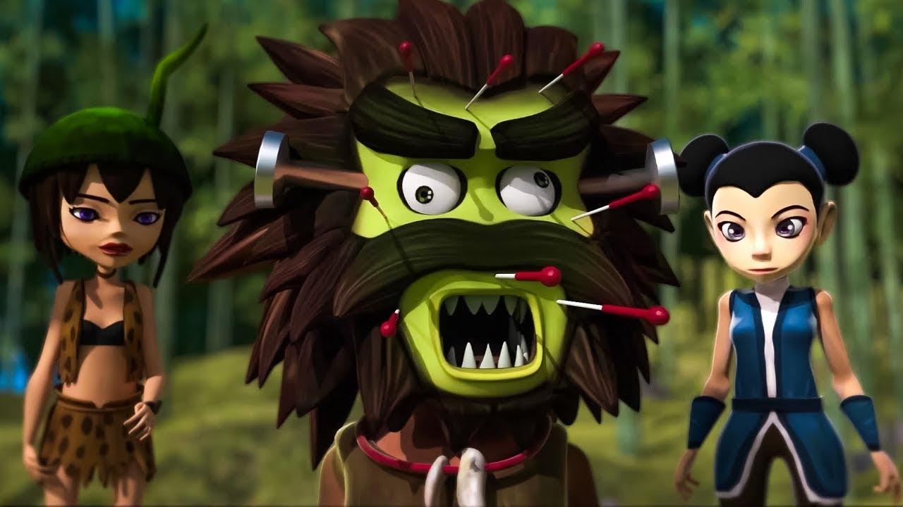 Oko ve Lele ⭐ Yeni sezon 2020 🎋 Bambu ormanı 🦖 Derleme animasyon kısa film 🐞 Komik çizgi filmler