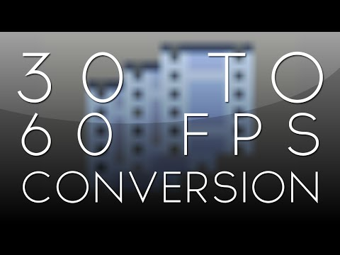 After Effects Tutorial: 30 to 60 FPS Conversion