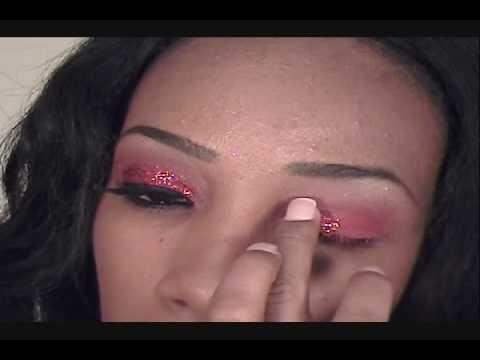Ruby Red eyes tutorial