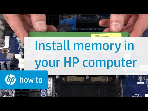 How to Install Memory in Your HP Computer: HP Workbench Series