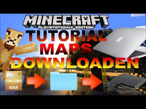 Minecraft Maps downloaden PS3/PS4  Apple Mac/Macbook