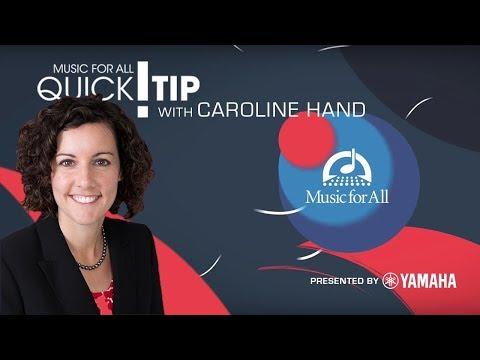 Quick Tip with Caroline Hand