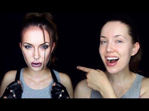 Hangin with Angelina Jolie (Lara Croft Transformation)
