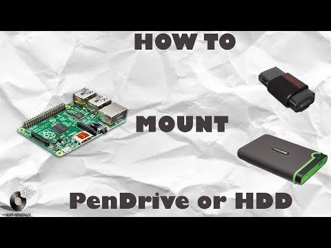 TORRENT BOX PART 3: How To Mount External Hard Disk or pen drive in raspbian server (Raspberry Pi)