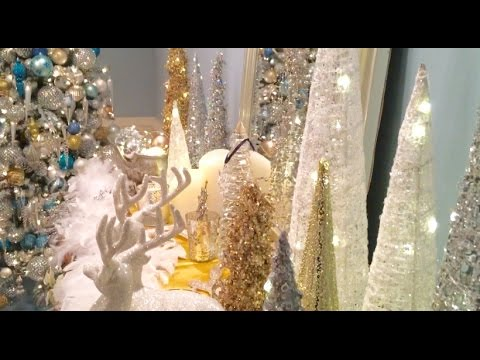 Winter Wonderland - An Entire Room Decorated for Christmas  (Part 5 of 5)