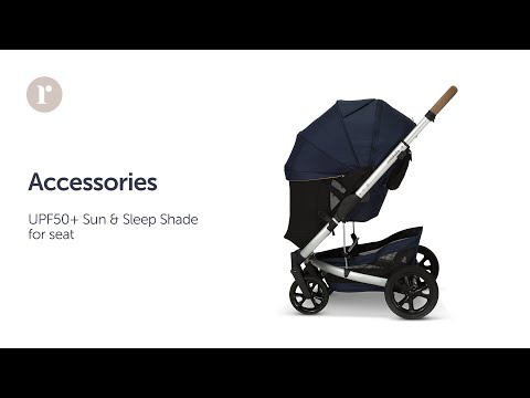 JIVE²/METRO² UPF50+ Zip-on Sun & Sleep Shade (Seat) Instructional Video