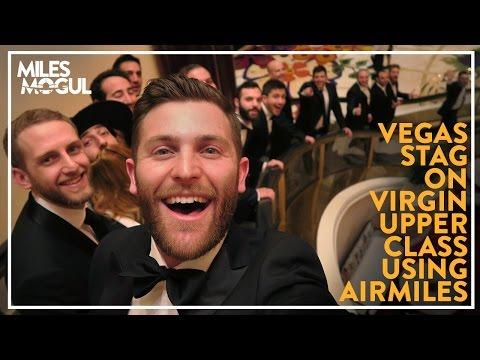 Flying the Virgin Atlantic 747 Jumbo Upper Class for Las Vegas Stag (VS043) - Miles Mogul