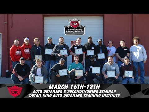 Auto Detailing & Reconditioning Certification at Detail King
