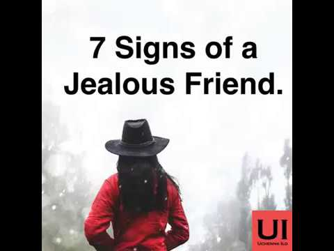 7 Signs of a Jealous Friend