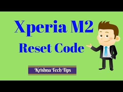 Sony Xperia M2 Hard Reset Code